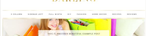 Darling – 3rd Party Genesis Framework Theme