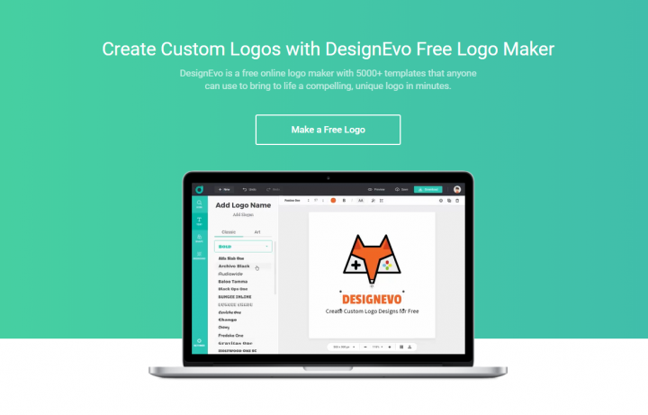 DesignEvo Review: The Easiest Way to Make a Logo for Your Blog