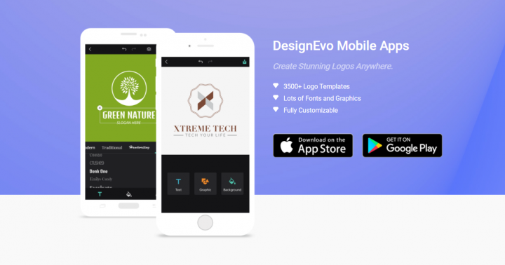 DesignEvo Mobile Apps