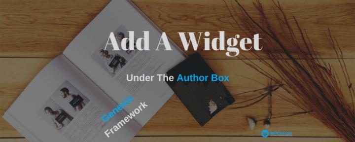 How To Add A Widget Under The Navigation Bar