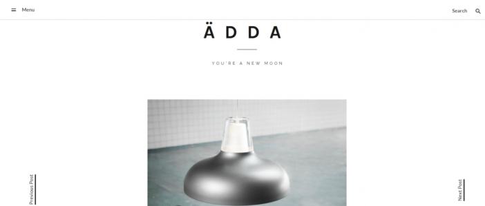 Adda Theme