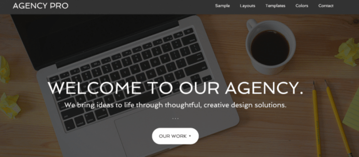 Agency Pro – StudioPress Sites Theme