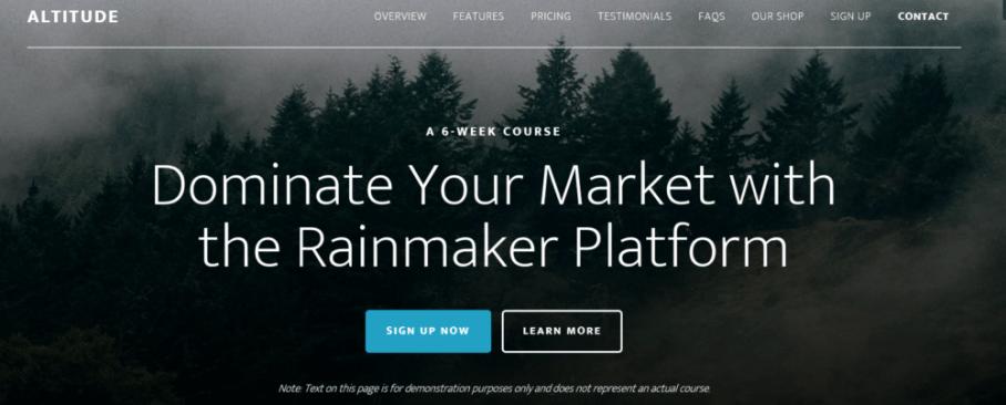 Altitude Pro – StudioPress Sites Theme