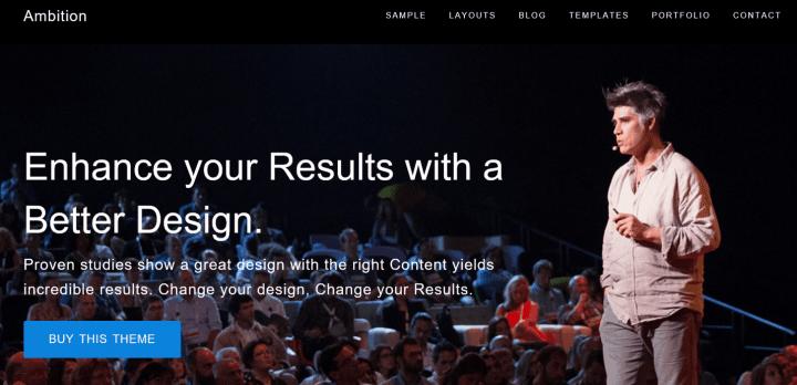 Ambition – 3rd Party Genesis Framework Theme