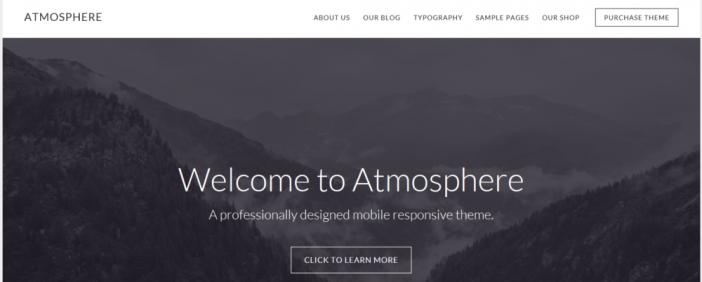 Atmosphere Pro Studiopress Sites Theme Wpoutcast