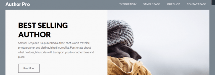 Author Pro – StudioPress Sites Theme