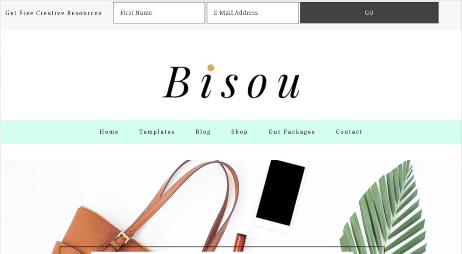 Bisou – 3rd Party Genesis Framework Theme