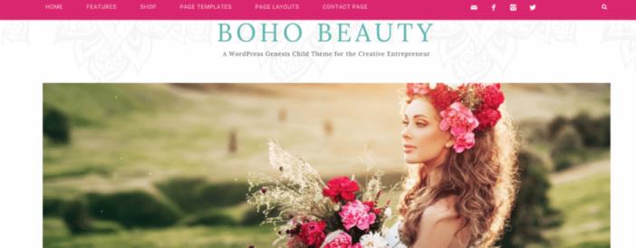 Boho Beauty Theme