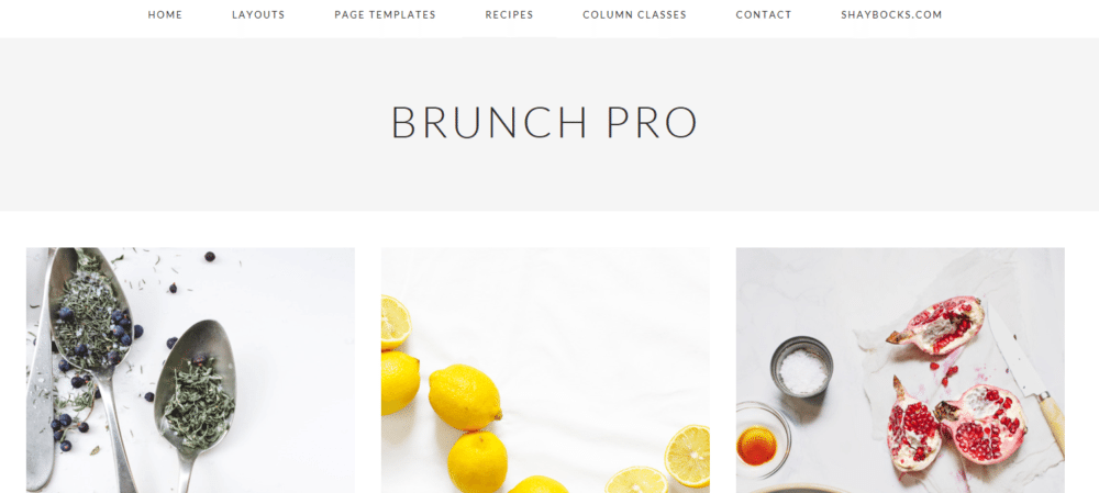 Brunch Pro – 3rd Party Genesis Framework Theme