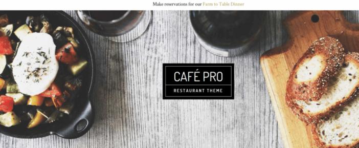 Cafe Pro Theme
