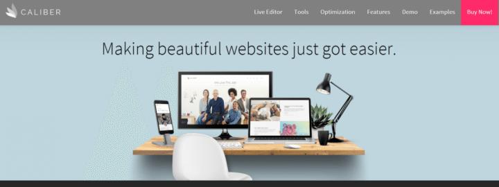 Caliber – A Responsive WordPress Theme