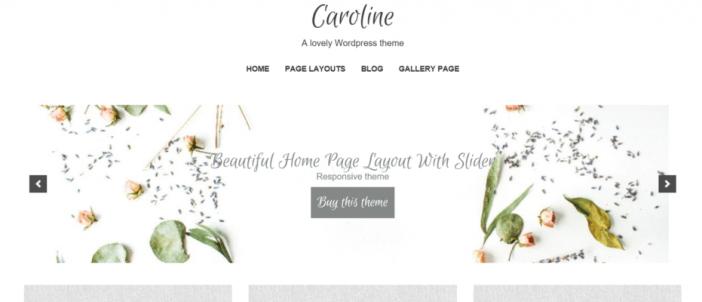 Caroline Themes