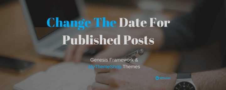 How To Add The Last Modified Date For Blog Posts