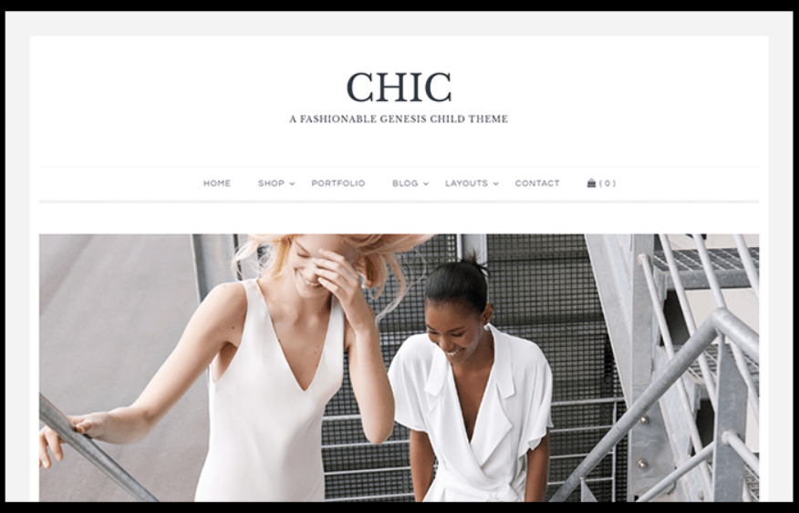 Chic – 3rd Party Genesis Framework Theme