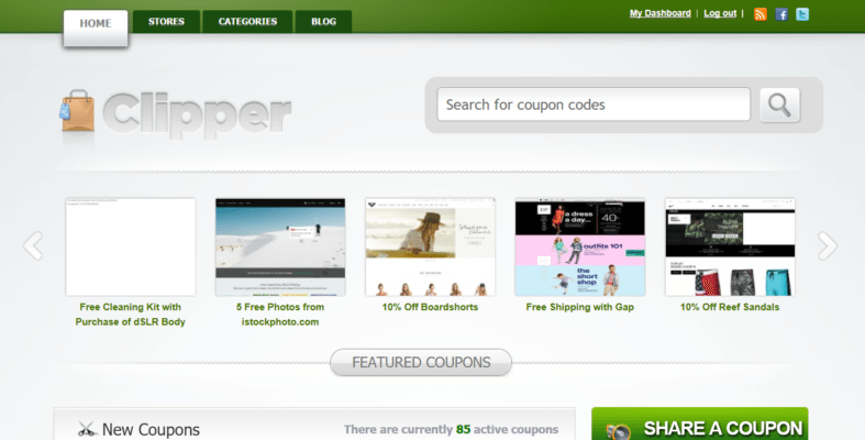 Clipper – The Most Powerful Coupon Theme