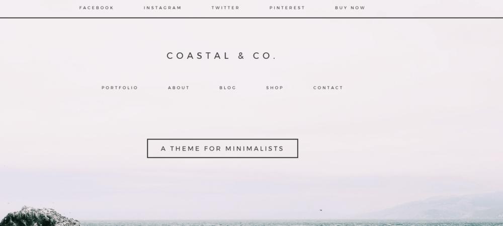 Coastal & Co – 3rd Party Genesis Framework Theme
