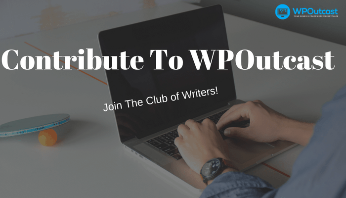 Contribute To Our Community Of Bloggers
