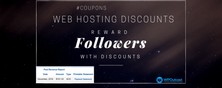 Reward Your Audience With Web Hosting Promo Links