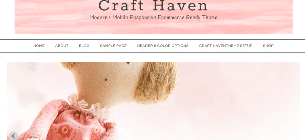 Craft Haven – 3rd Party Genesis Framework Theme