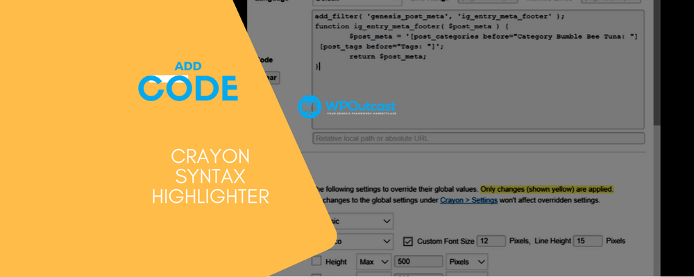 How To Use Crayon Syntax Highlighter Plugin
