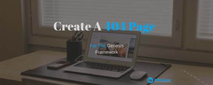Create A 404 Pages
