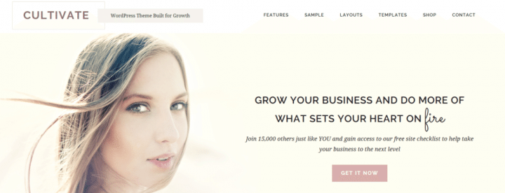 Cultivate – 3rd Party Genesis Framework Theme
