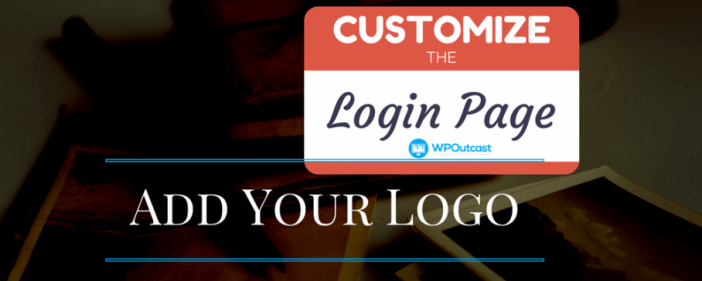 Customize The logins Page