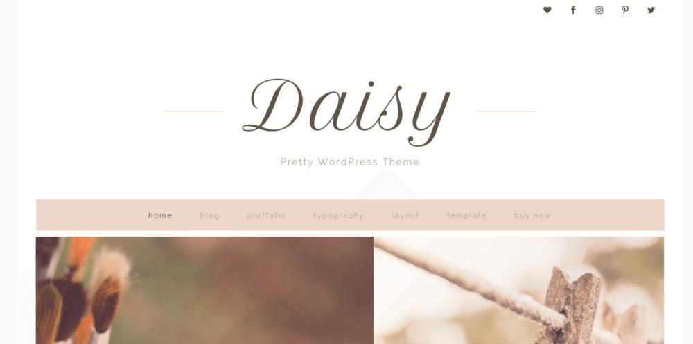 Daisy – 3rd Party Genesis Framework Theme