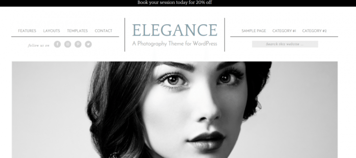 Elegance – 3rd Party Genesis Framework Theme