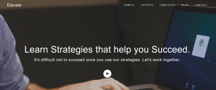 Elevate – 3rd Party Genesis Framework  Theme