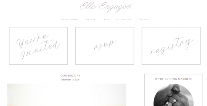 Ella Engaged Theme