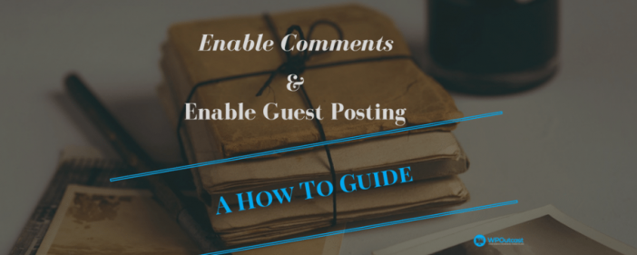 Enable Comments For Blog