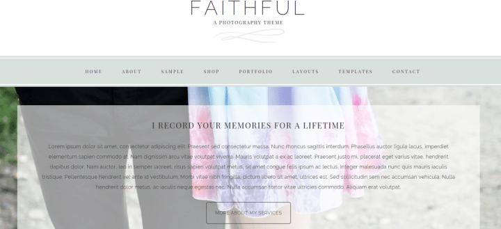 Faithful – 3rd Party Genesis Framework Theme