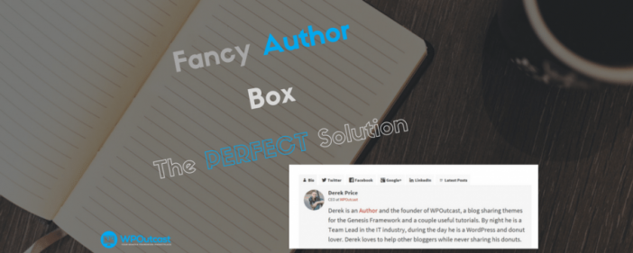 Fancy Author Box
