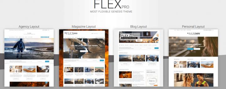 FlexPro – 3rd Party Genesis Framework Theme