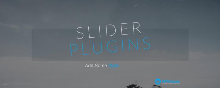 Free Slider Plugins