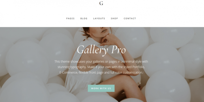 Gallery Pro Theme