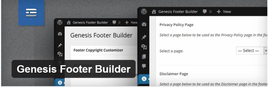 Genesis Footer Builder