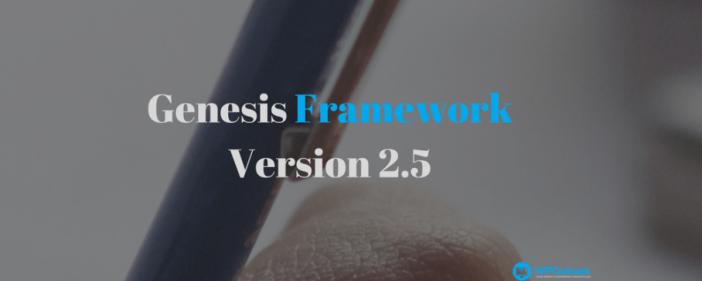 Genesis Framework Betas