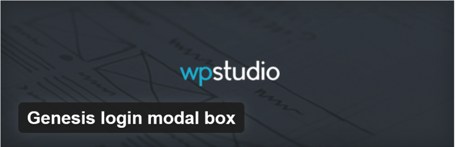 Genesis Login Modal Box