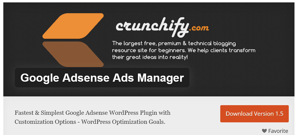 Google Adsense Ads Manager