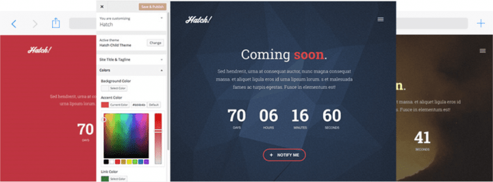 Hatch – 3rd Party Genesis Framework Theme