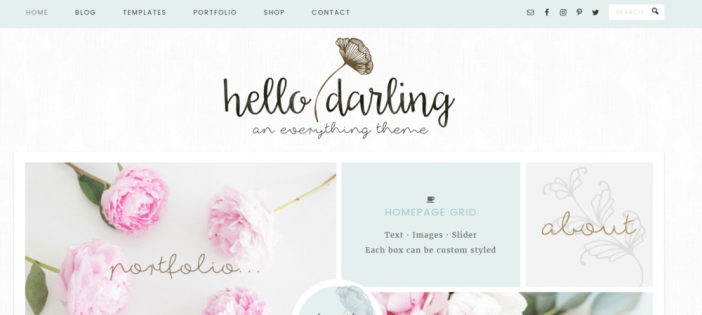 Hello Darling Theme