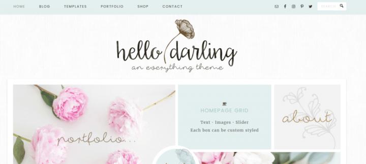 Hello Darling – 3rd Party Genesis Framework Theme