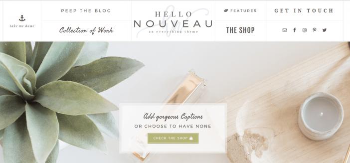 Hello Nouveau Theme