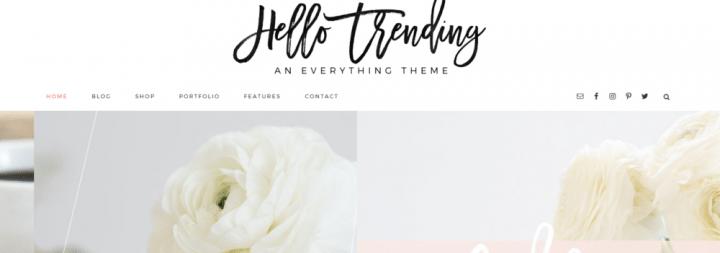 Hello Trending – 3rd Party Genesis Framework Theme