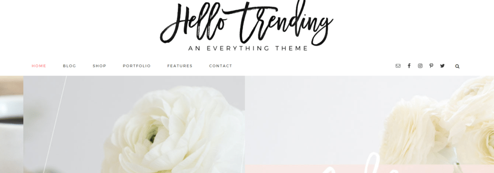 Hello Trending – 3rd Party Genesis Framework Theme
