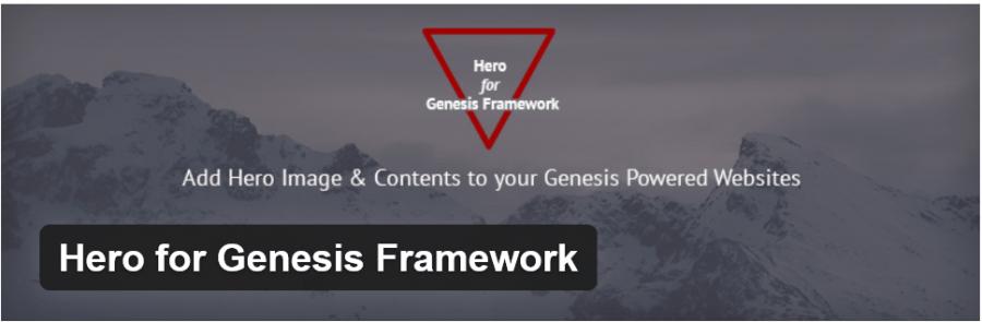Hero For Genesis Framework