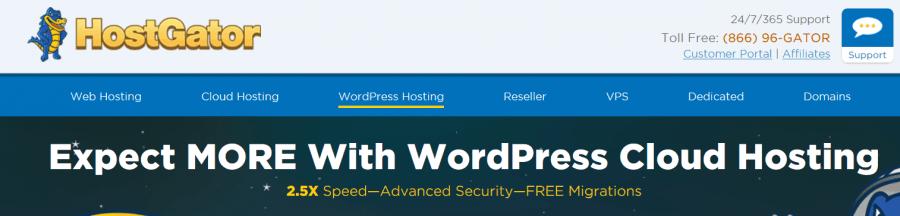 HostGator Managed WordPress