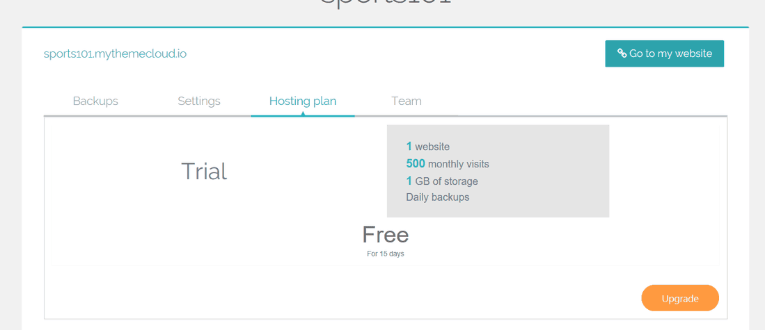 Hosting Trial ThemeCloud